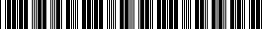 Barcode for 3350307030